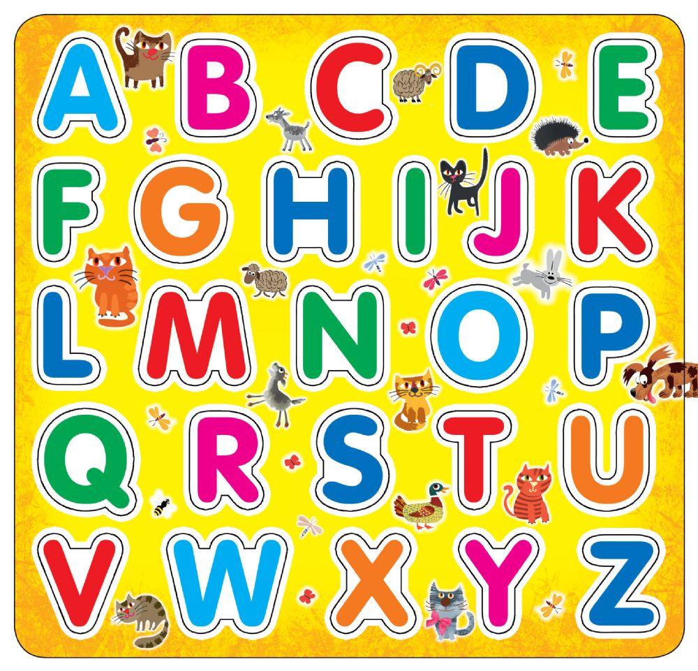Английский алфавит на магнитах
