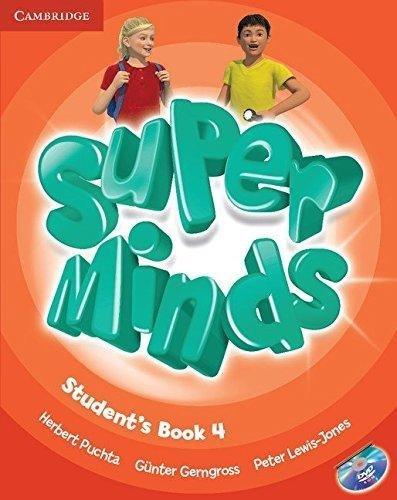 Super Minds 4 SB+DVD-PAL